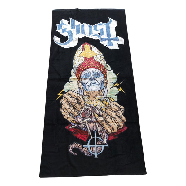 Papa of the World Beach Towel