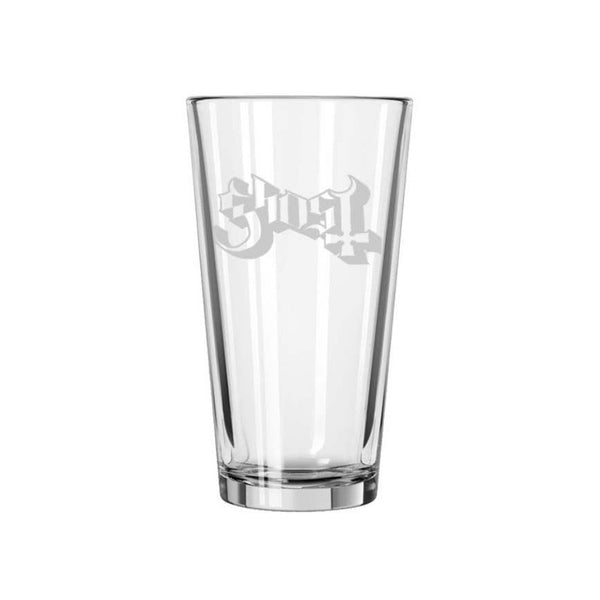 Etched Logo Pint Glass