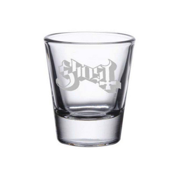 Etched Logo Shot Glass