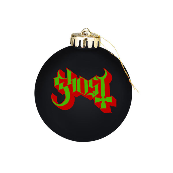 Ghost Holiday Ornament