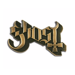 Ghost Logo Pin Gold
