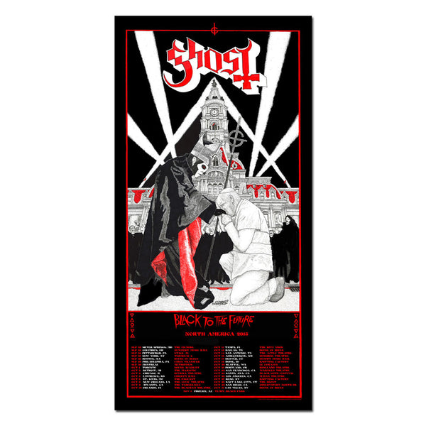 POPE NORTH AMERICAN 2015 TOUR POSTER