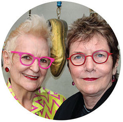 Gai Gherard (left) Barbara McReynolds (right)