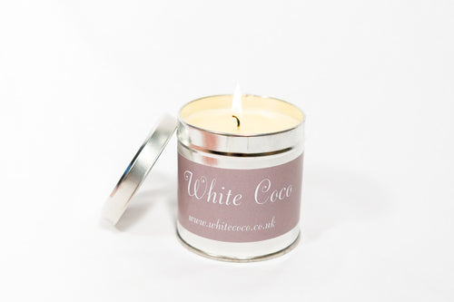 White Coco Scented Candle - Options available