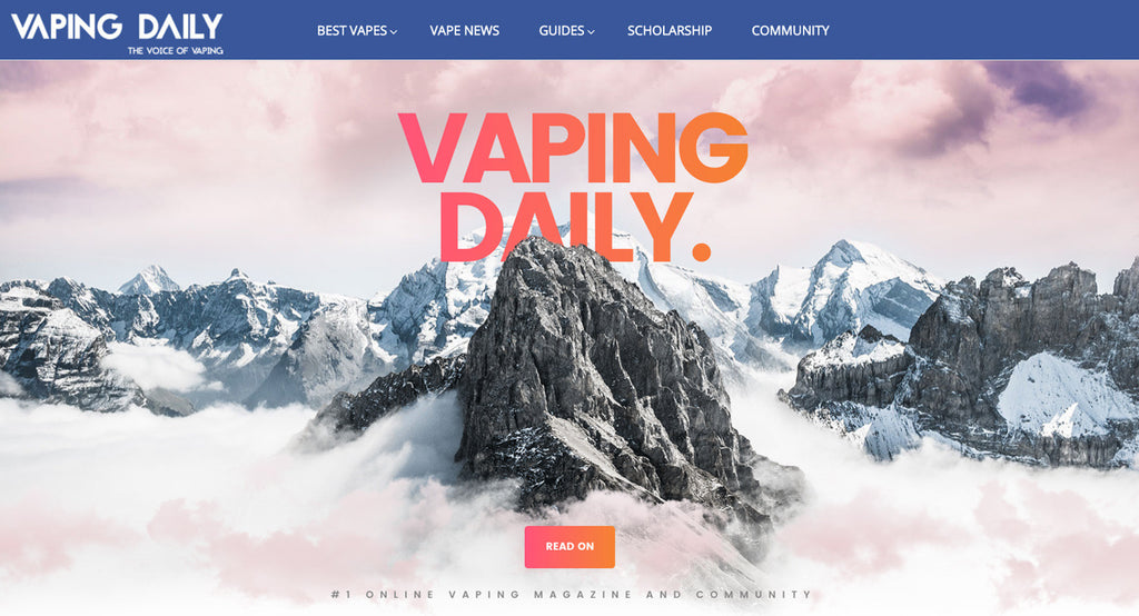 New Review Featured on VapingDaily