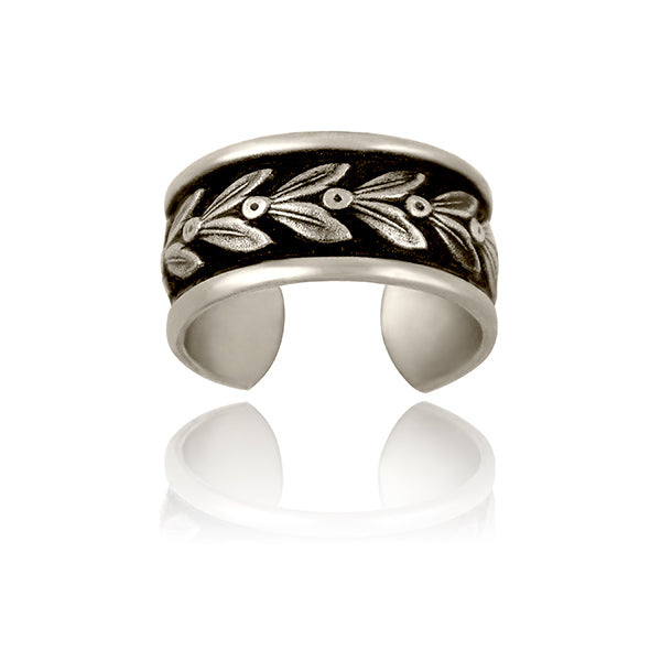 Olive Leaf Ring - Silver - Our Nation's Creations
