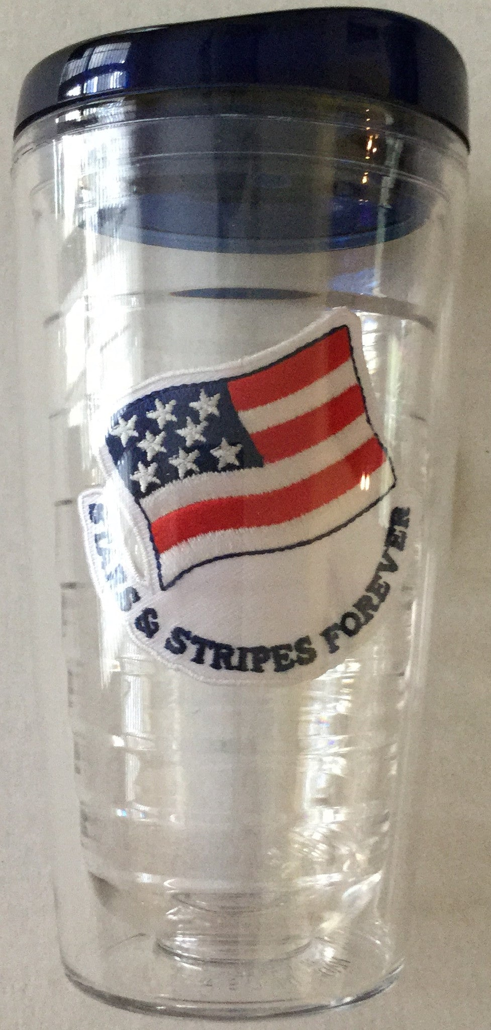 Tumbler 16 oz Stars and Stripes - Our Nation's Creations