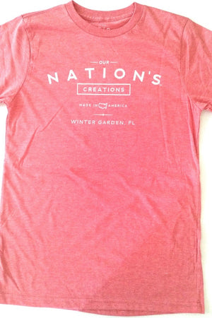 Unisex Our Nation's Creations T-Shirt Red - Our Nation's Creations