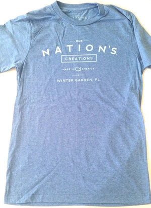 Unisex Our Nation's Creations T-Shirt Blue - Our Nation's Creations