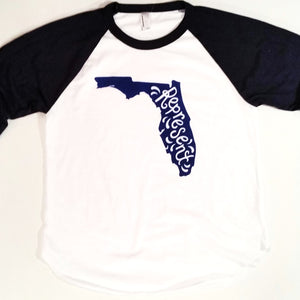 Represent Florida Reglan Baseball T-Shirt - Our Nation's Creations