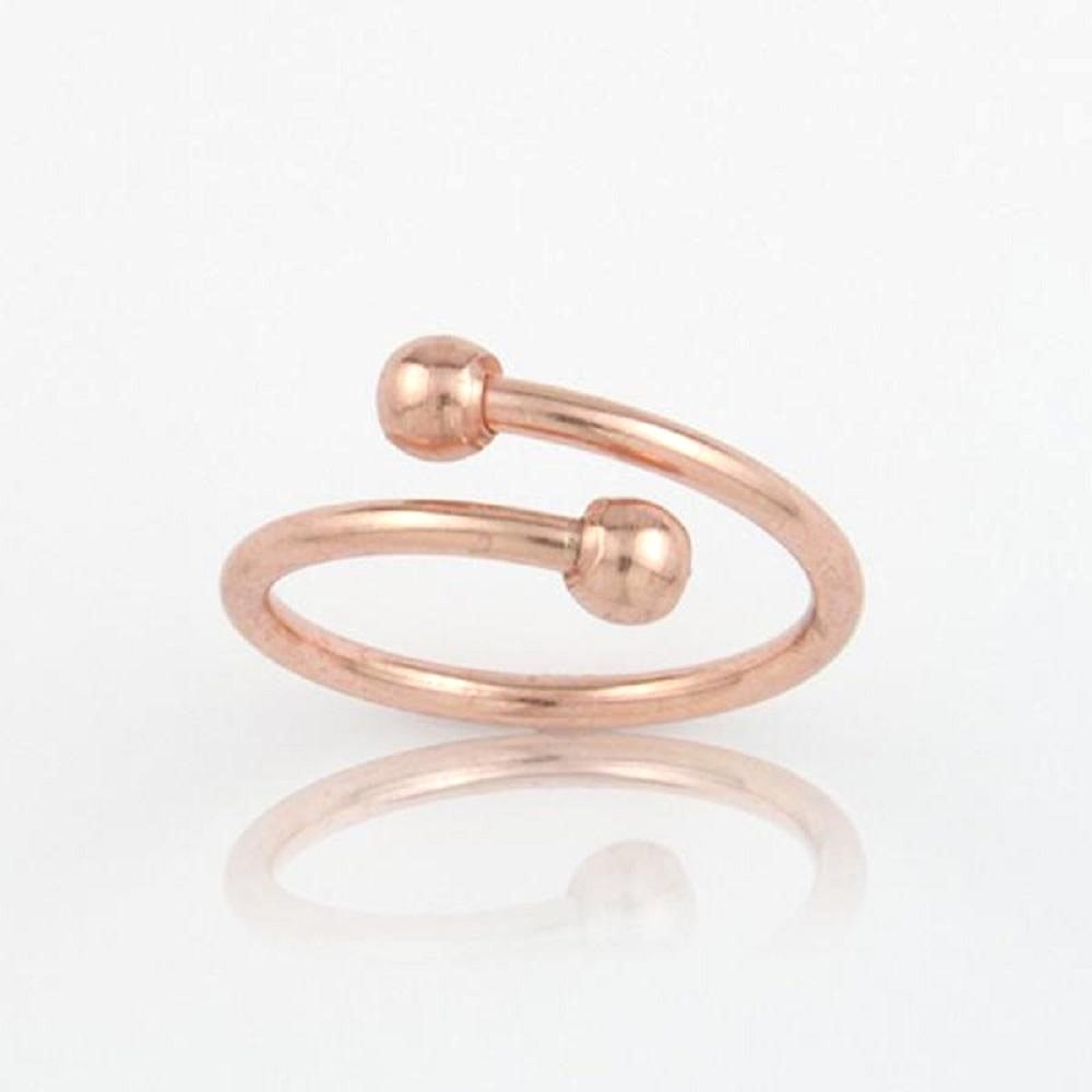 Ball End Ring - Copper - Our Nation's Creations