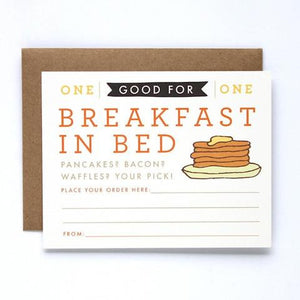 Breakfast In Bed - Our Nation's Creations