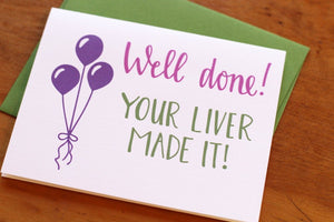 Well Done your liver made it - Our Nation's Creations