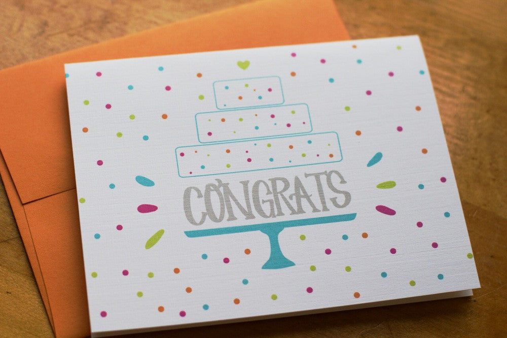 Card ~ Congrats - Our Nation's Creations