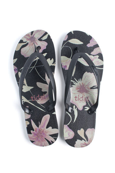 Flip Flop ~ Men's Orange Floral - Our Nation's Creations