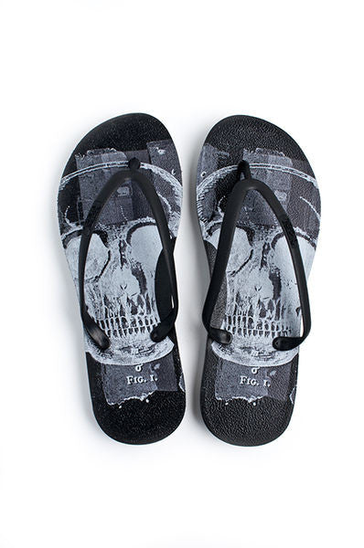 Flip Flop ~ Men's Skull - Our Nation's Creations