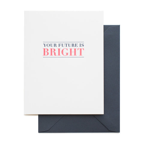 Card ~ Graduation Bright Future