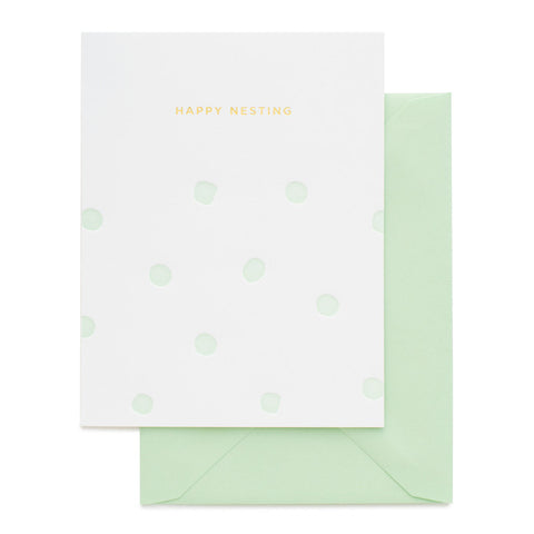 Card ~ Happy Nesting