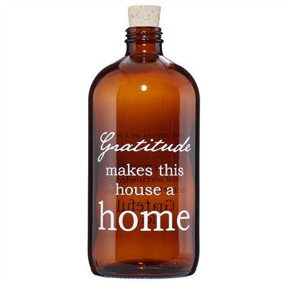Home Amber Apothecary Jar - Our Nation's Creations