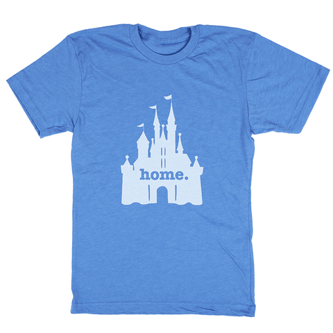 Home T Castle Blue T-Shirt