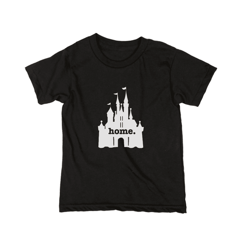 Home T Kids Castle Grey T-Shirt - Our Nation's Creations