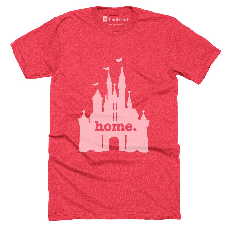 Home T Castle Red T-Shirt - Our Nation's Creations