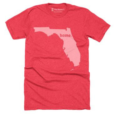 Home T Florida Red T-Shirt - Our Nation's Creations