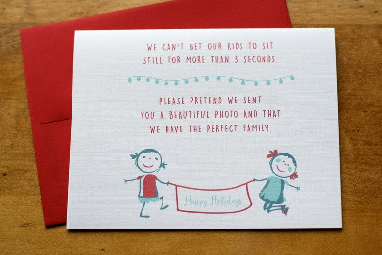 Card ~ Happy Holidays - Our Nation's Creations
