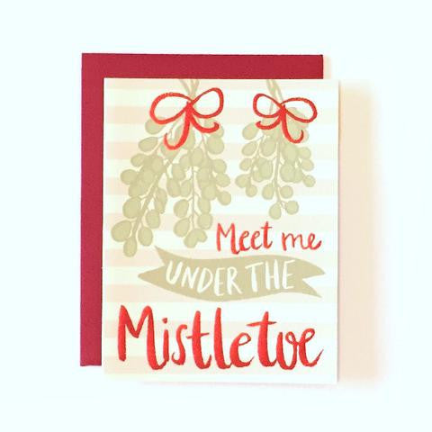 Meet me Under the Mistletoe - Our Nation's Creations