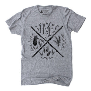 Unisex T-Shirt Whiskey Heather Grey - Our Nation's Creations