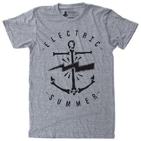 Electric Summer Grey Unisex T-Shirt - Our Nation's Creations