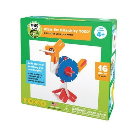 YOXO PBS KIDS Ozzie the Ostrich Building Toy - Our Nation's Creations
