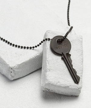 "TGK Black Matte Classic Key 30"" Black Ball Chain - Our Nation's Creations"