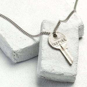 "TGK 27"" INSPIRE Classic Necklace Silver - Our Nation's Creations"