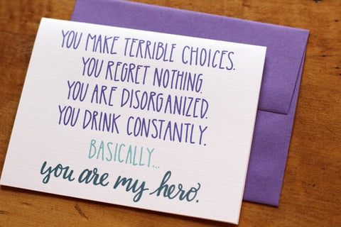 Card ~ You Are My Hero - Our Nation's Creations