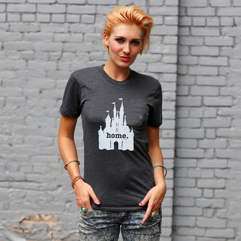 Home T Castle T-Shirt