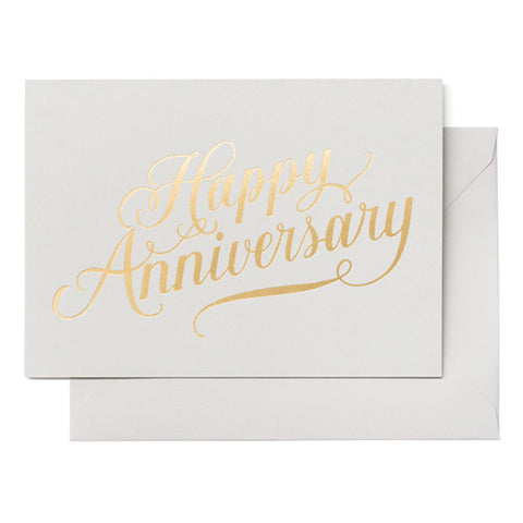 Card ~ Happy Anniversary - Our Nation's Creations