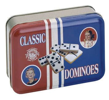 Dominos ~ Tin Can - Our Nation's Creations