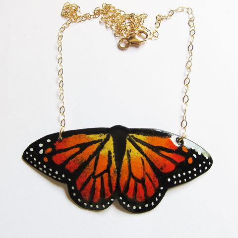 Hand-painted Butterfly Jewelry
