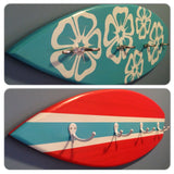Custom Handmade Surfboard Coatrack - Free Shipping Within U.S.