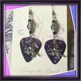 Dragon Guitar Pick Earrings