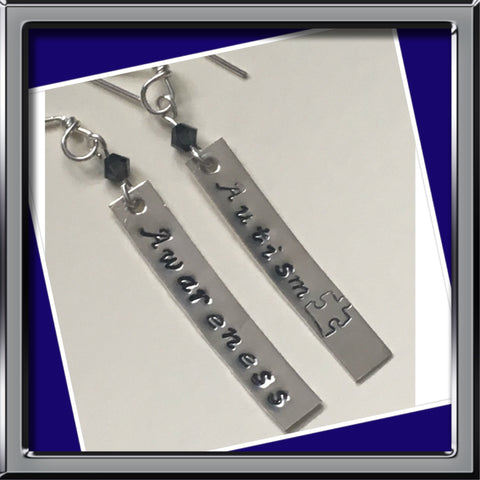 Autism Awareness Earrings