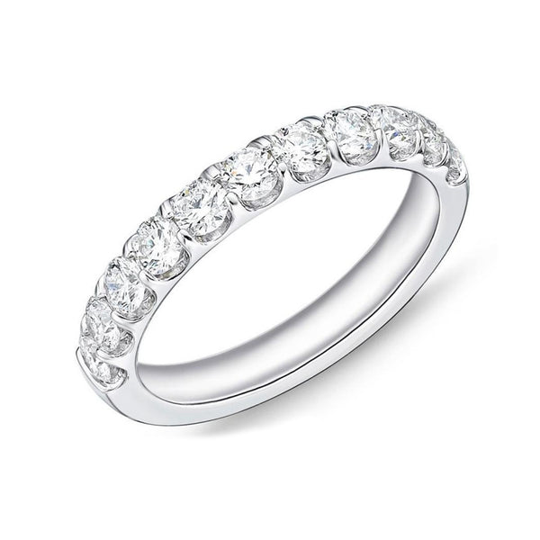 18k White Gold 11 Diamond Odessa® Band