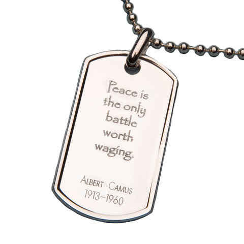 Albert Camus PeaceTag