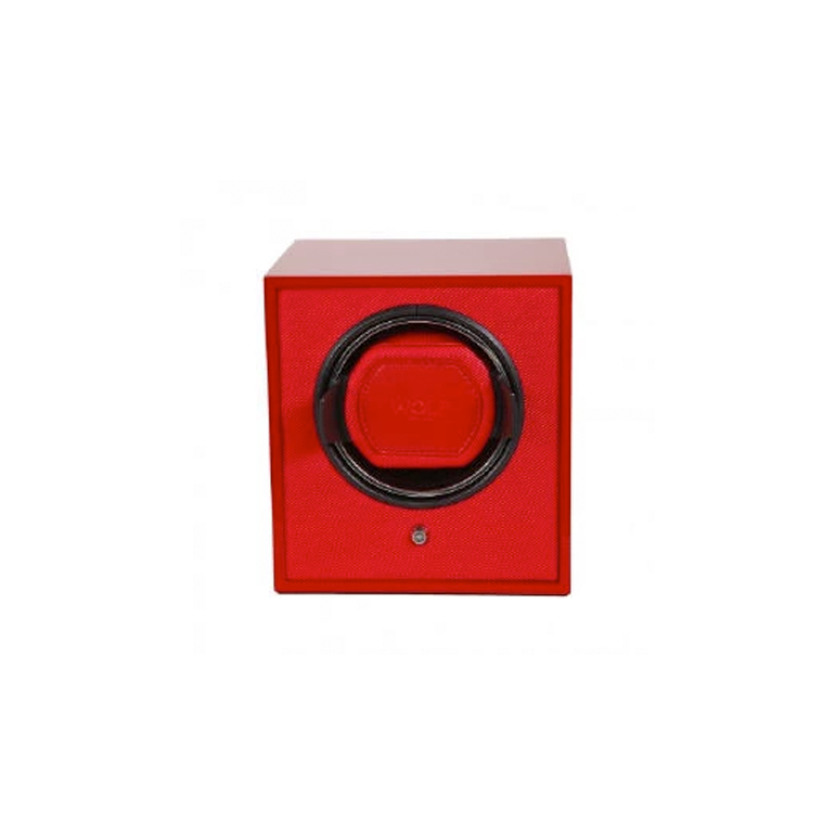 CUB WATCH WINDER - RED LACQUERED