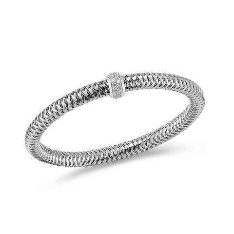 18k White Gold Primavera Diamond Bracelet