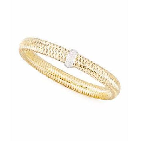 Primavera Slim Flexible Bangle Bracelet - Alvin Goldfarb