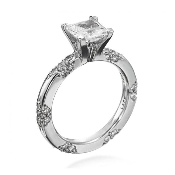 Platinum Lace Diamond Mounting
