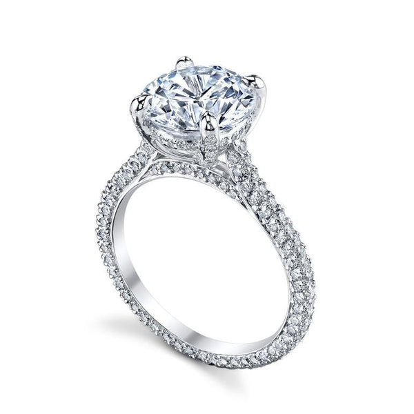 Platinum Paris Diamond Mounting