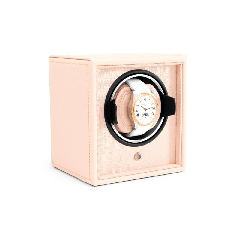 Pink Leather Single Watch Winder